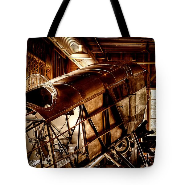 The Red Barn Of The Boeing Company II Tote Bag