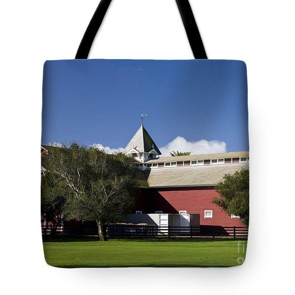 The Red Barn Stanford University Tote Bag