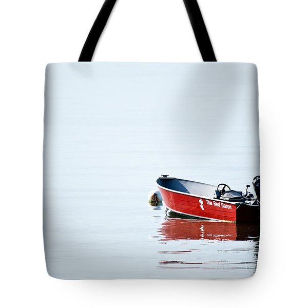 The Red Baron Tote Bag by Karol Livote