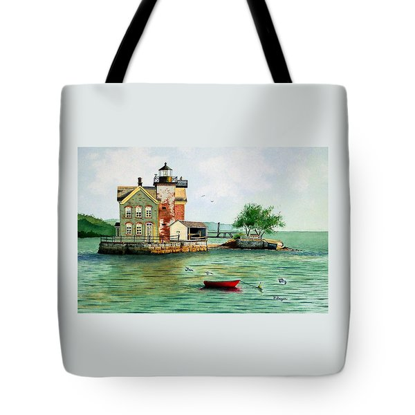 The Red Dory Tote Bag