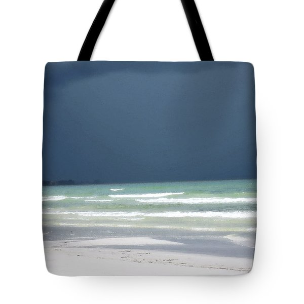 The Red Dress - Beach Art By Sharon Cummings Tote Bag