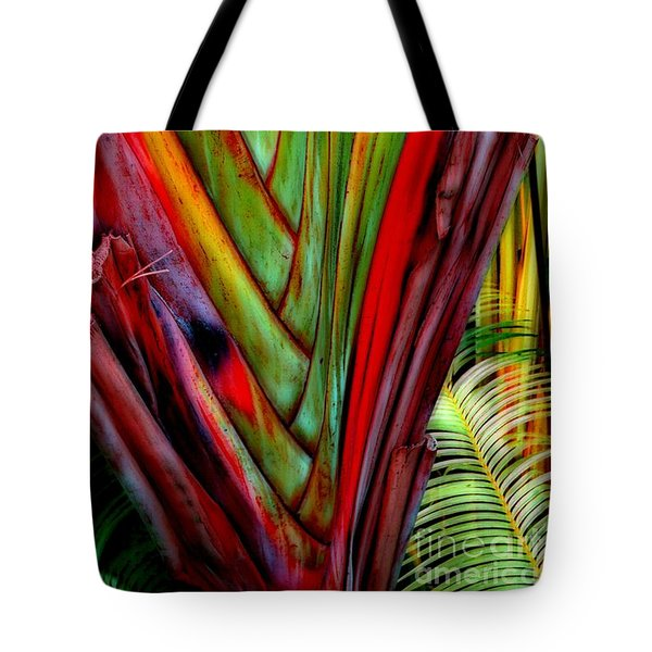 The Red Jungle Tote Bag by Joseph J Stevens