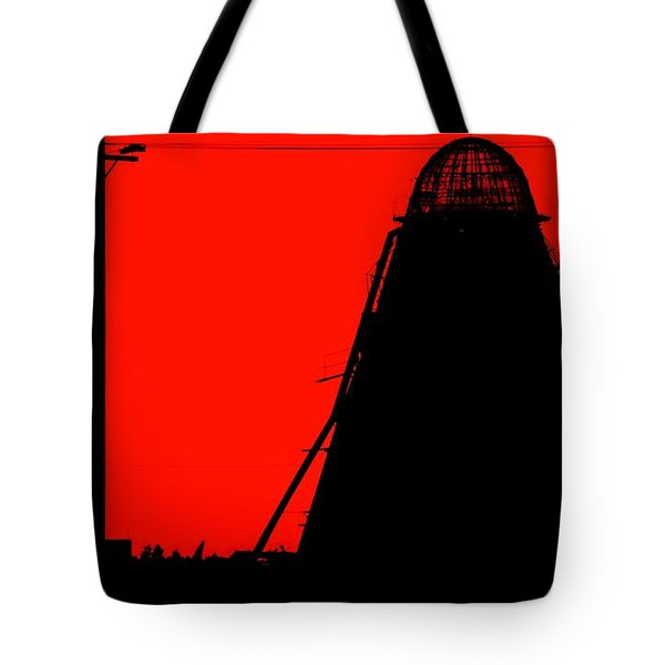 The Red Mill Tote Bag by Jessica Shelton