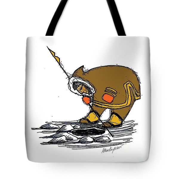 The Red Mittens Tote Bag