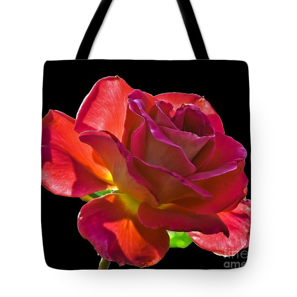 The Red One Tote Bag by Robert Bales