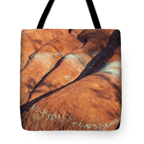 The Red Planet Tote Bag by Barbara McMahon