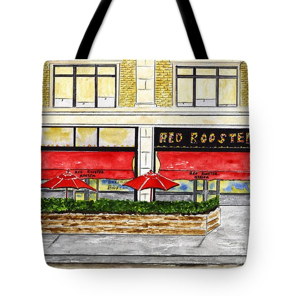The Red Rooster Tote Bag