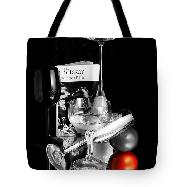 Tote Bag featuring the photograph The Red Tomato by Karo Evans