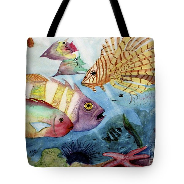 The Reef Tote Bag by Mohamed Hirji