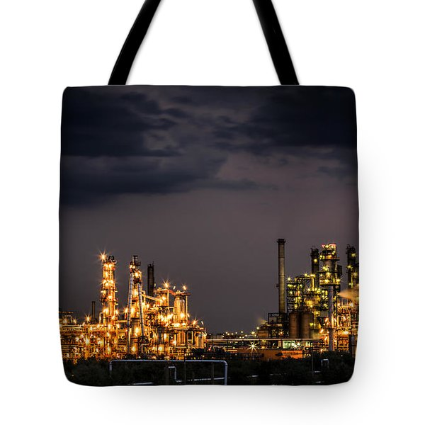 The Refinery Tote Bag by Mihai Andritoiu