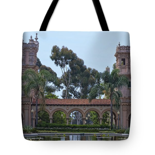 The Reflection Pool Tote Bag