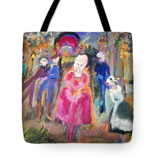 The Regency Ballet Tote Bag by Judith Desrosiers