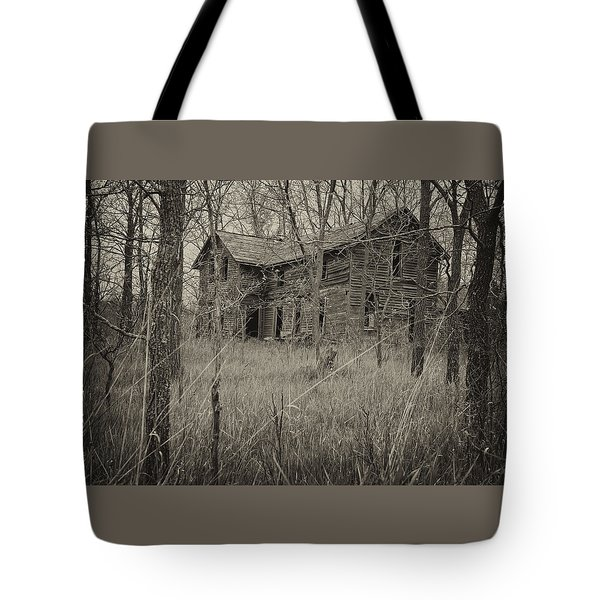 The House In The Woods Tote Bag
