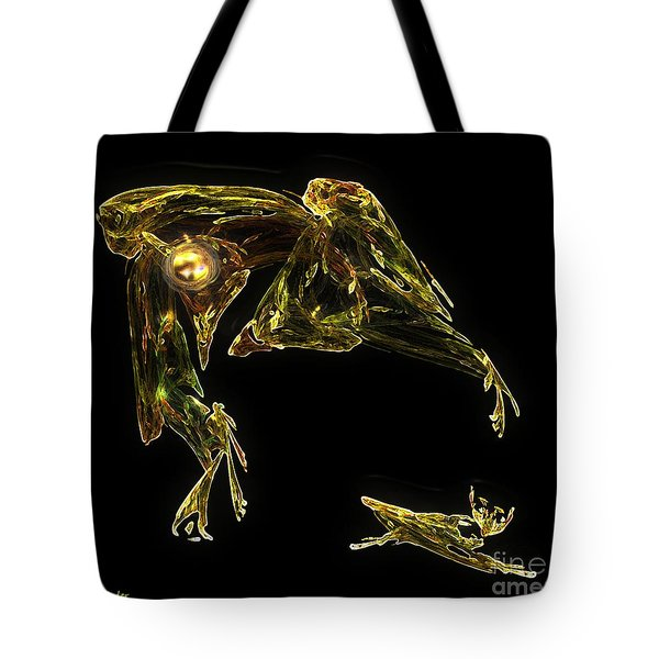 The Reluctant Familiar Tote Bag by RC DeWinter