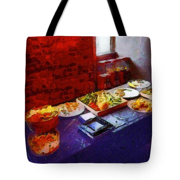 The Remains Of The Feast Tote Bag by RC deWinter