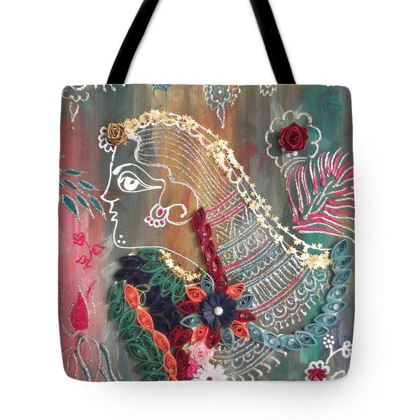 The Girl Tote Bag