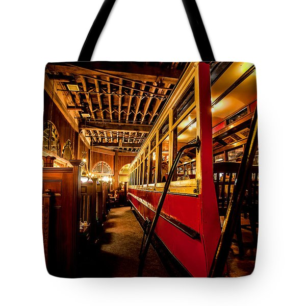 The Restaurant Trolley  Tote Bag