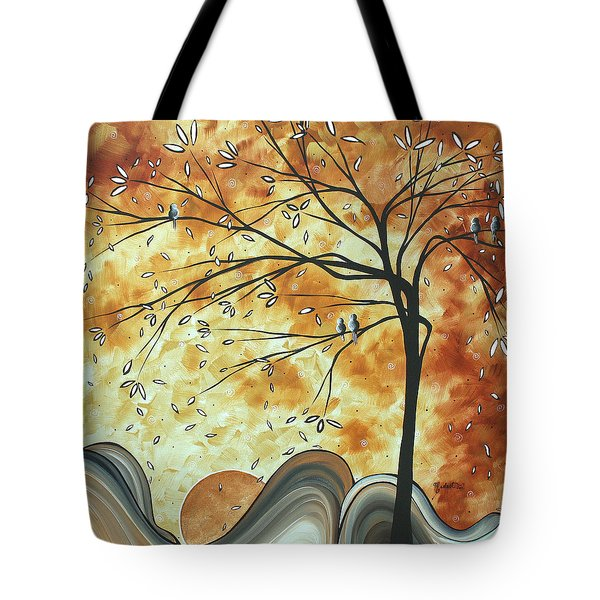The Resting Place By Madart Tote Bag by Megan Duncanson