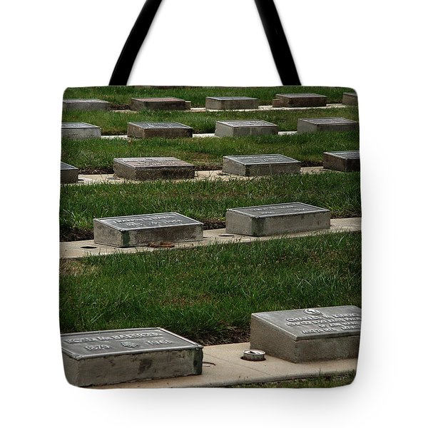 The Resting Place Tote Bag by Peter Piatt