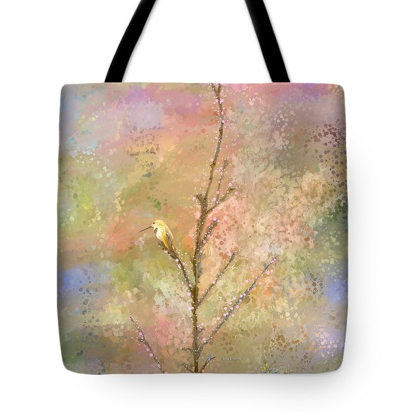 The Restlessness Of Springtime Rest Tote Bag by Angela A Stanton