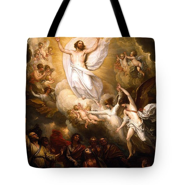 The Resurrection Tote Bag by Munir Alawi