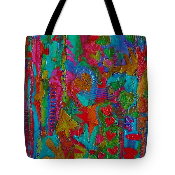 The Rhythm Of Life Tote Bag by Catherine Redmayne