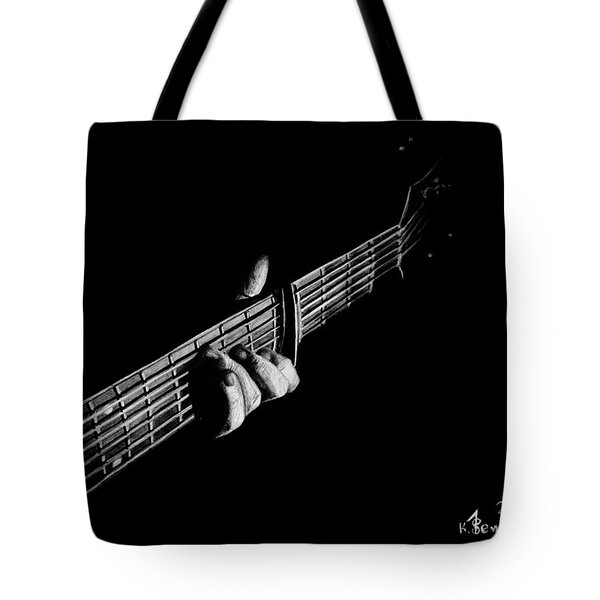 The Right Chord Tote Bag by Kayleigh Semeniuk