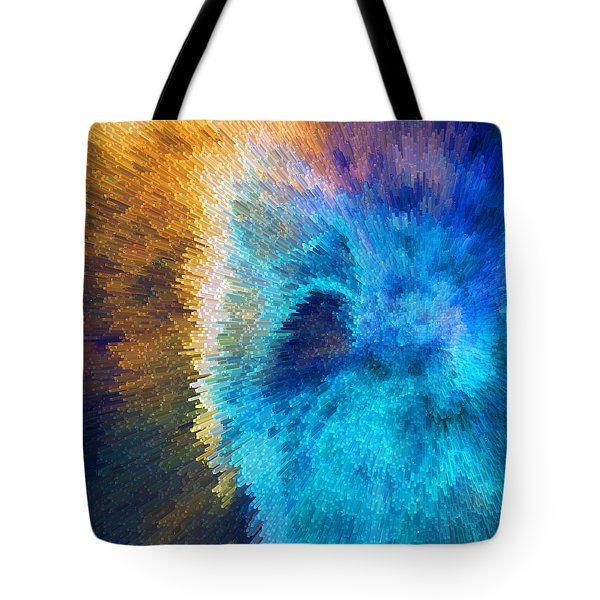 The Right Direction - Abstract Art By Sharon Cummings Tote Bag by Sharon Cummings
