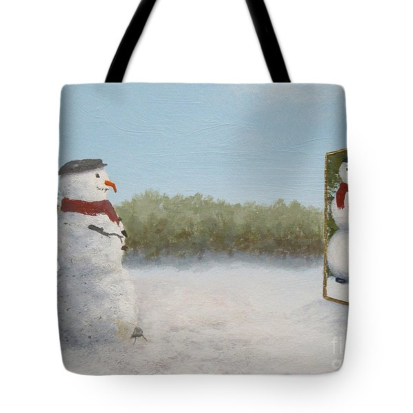 The Right Mirror Tote Bag