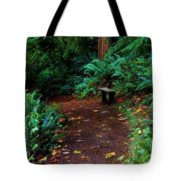 The Right Path Tote Bag by Jeanette C Landstrom