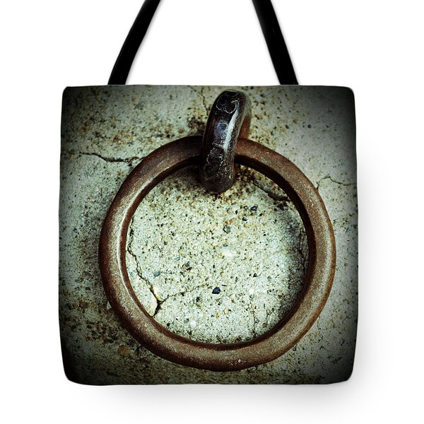 The Ring Tote Bag by Holly Blunkall