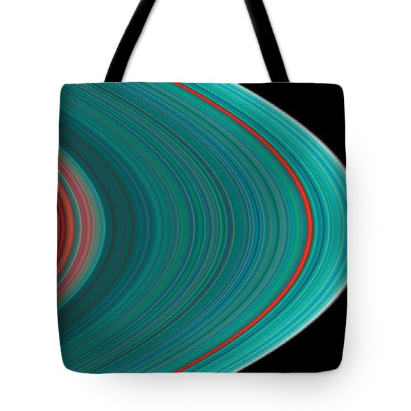 The Rings Of Saturn Tote Bag by Anonymous