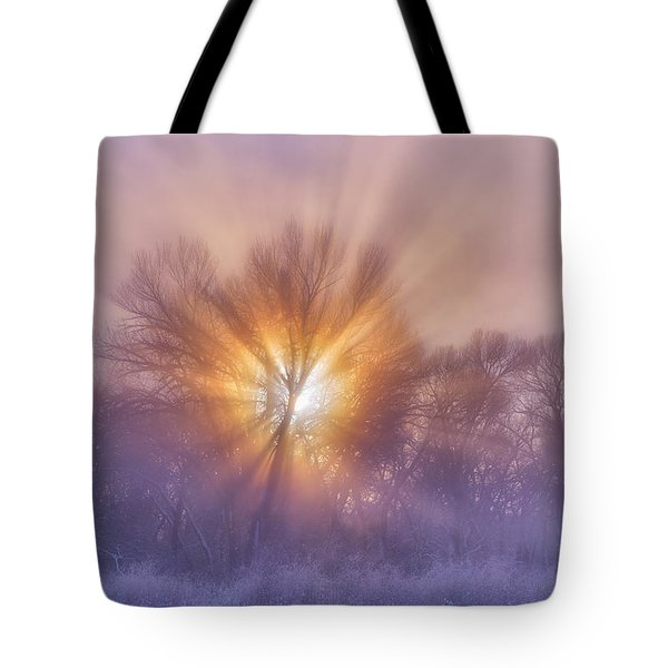 The Rising Tote Bag by Darren  White
