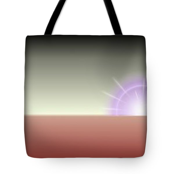 The Rising Tote Bag by Tim Allen