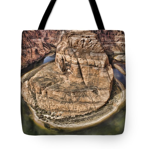 The River Did It Tote Bag by Heather Applegate
