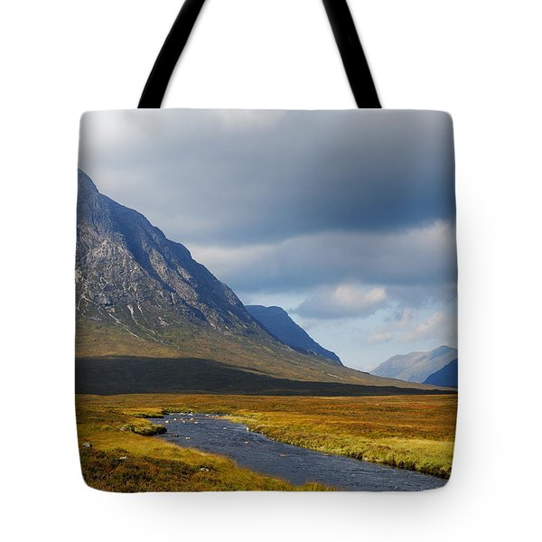 Tote Bag featuring the photograph The River Runs Through It by Wendy Wilton