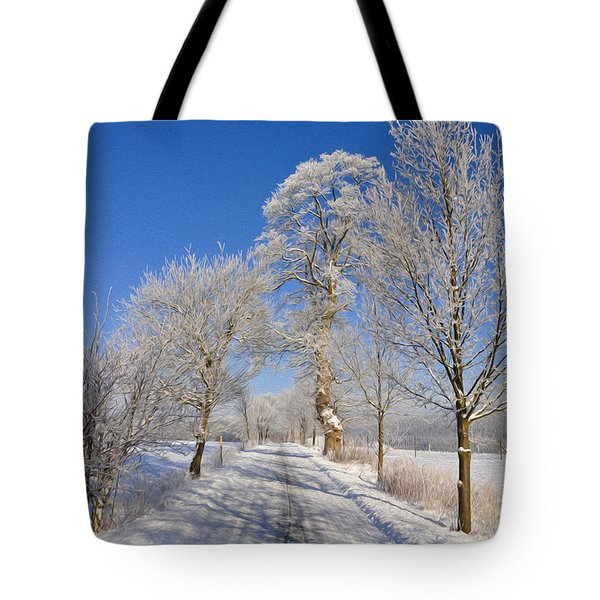 The Road Tote Bag by Aged Pixel
