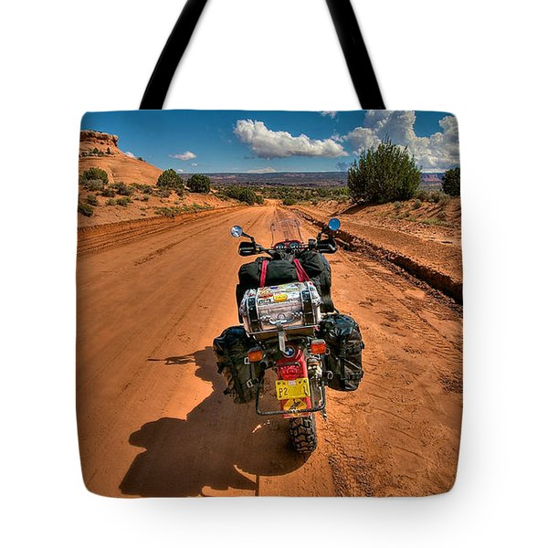 The Road Ahead Tote Bag by Britt Runyon