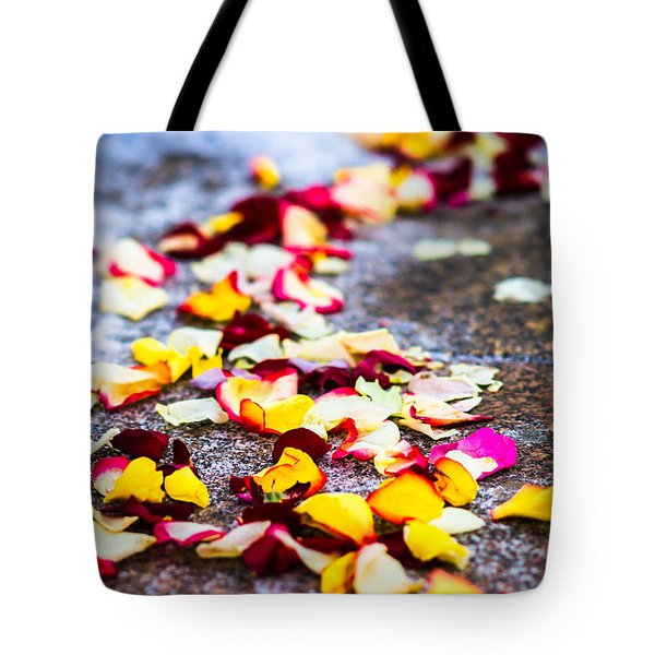 The Road - Featured 3 Tote Bag by Alexander Senin