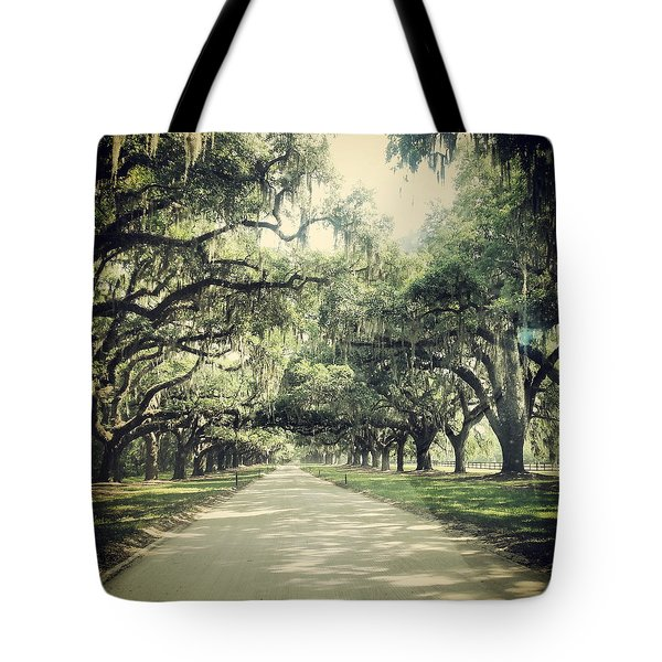 The Road From Boone Hall Tote Bag