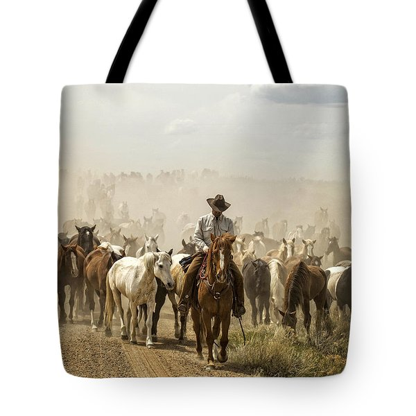 The Road Home 2013 Tote Bag by Joan Davis