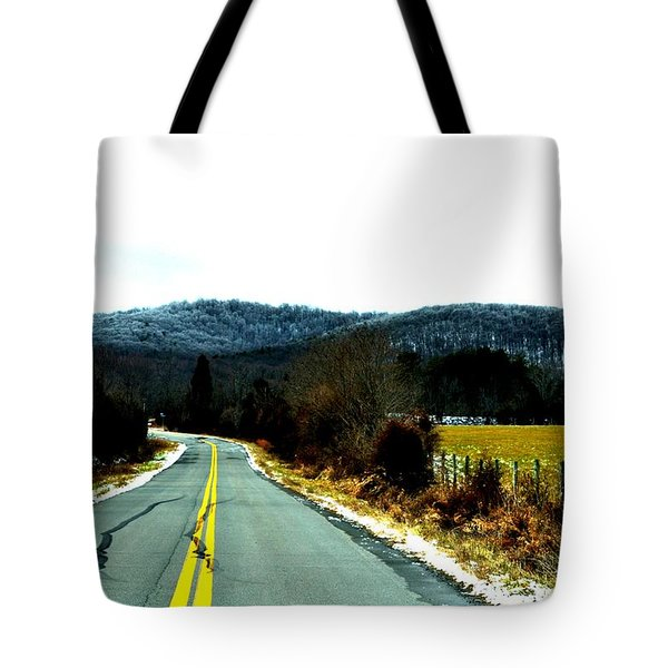 The Road Home Tote Bag by Carlee Ojeda