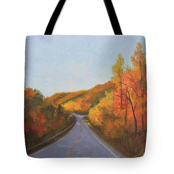 The Road Home Tote Bag by Sherri Anderson