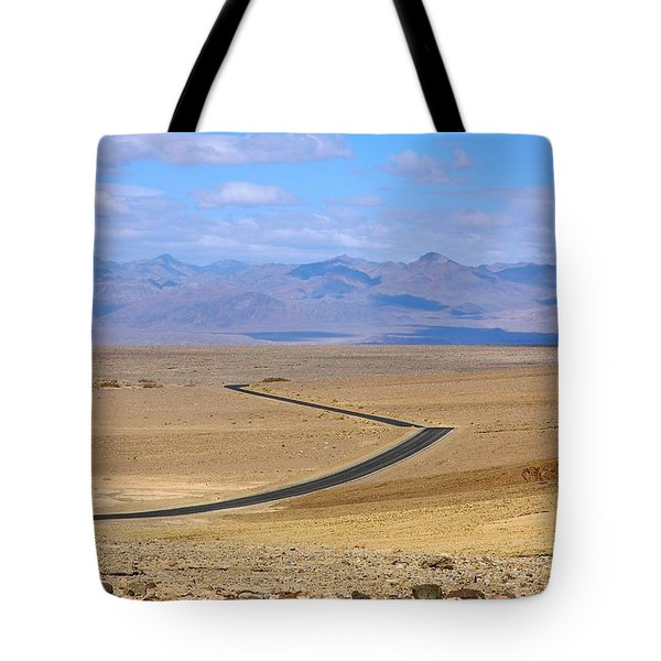 Tote Bag featuring the photograph The Road by Stuart Litoff