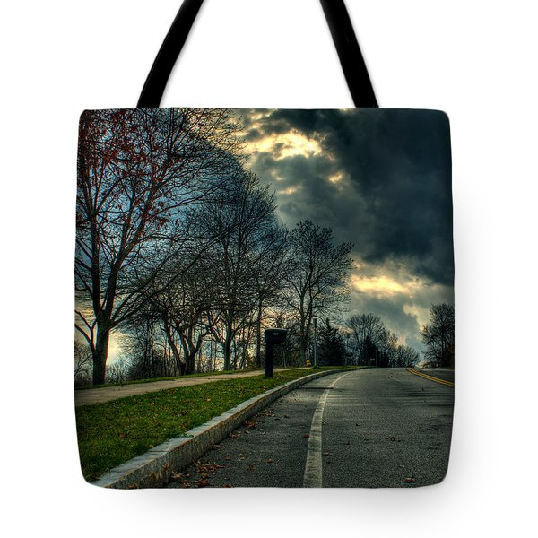 The Road Tote Bag by Tim Buisman