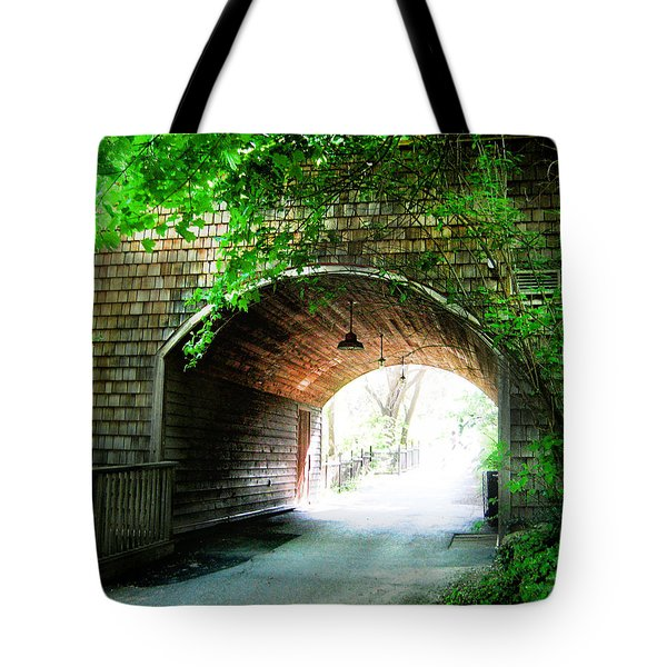 The Road To Beyond Tote Bag by Shawn Dall