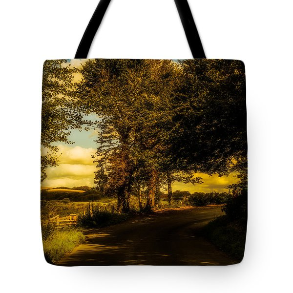 Tote Bag featuring the photograph The Road To Litlington by Chris Lord