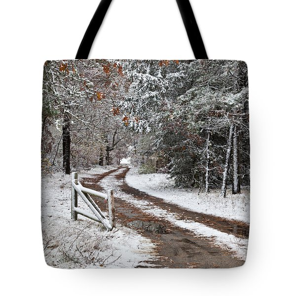 The Road To The River Tote Bag by Michelle Wiarda