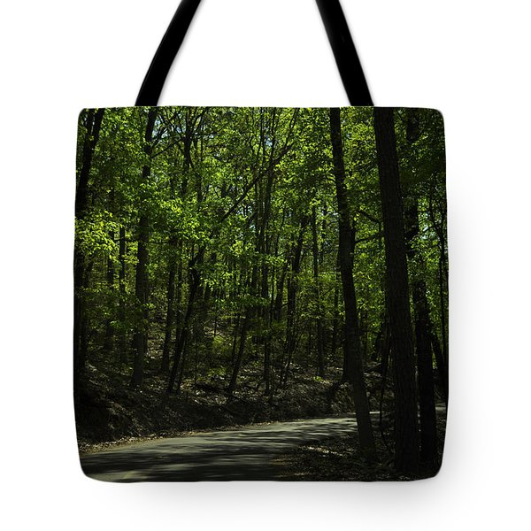 The Roads Of Alabama Tote Bag