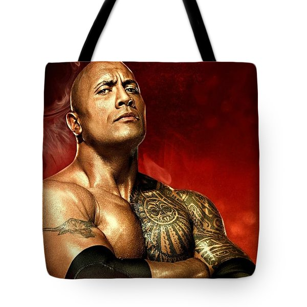 The Rock Dwayne Johnson  Tote Bag